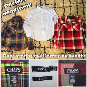 Name brand boys YS dress shirt bundle !